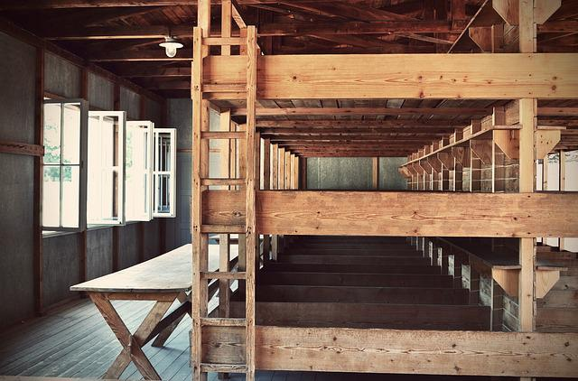 Konzentrationslager, Dachau, Bedded Baracke, History