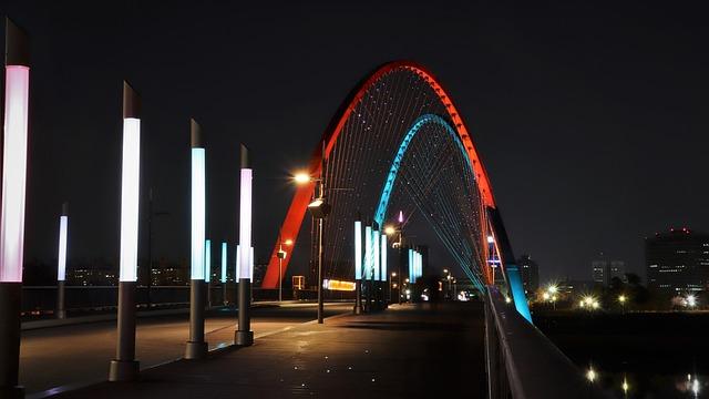 Expo, Bridge, War, Daejeon, Korea, Republic Of Korea