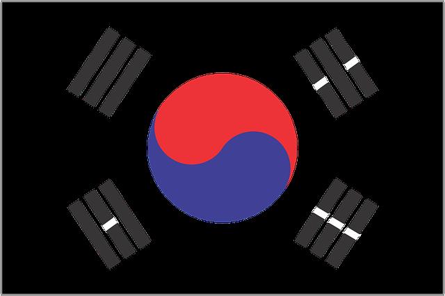 South Korea, Flag, Korea, Country, Patriotism