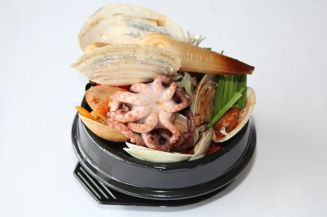 Geoduck, Panope Japonica, Koreafood, Korean Food