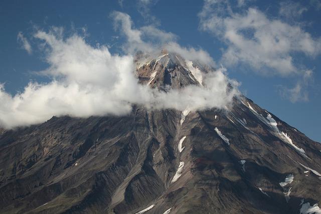 Koryaksky Volcano, Kamchatka, Rocks, Stones, Slopes