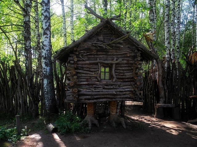 Kostroma, Story, Hut, Tree, Museum, Open-air Museum