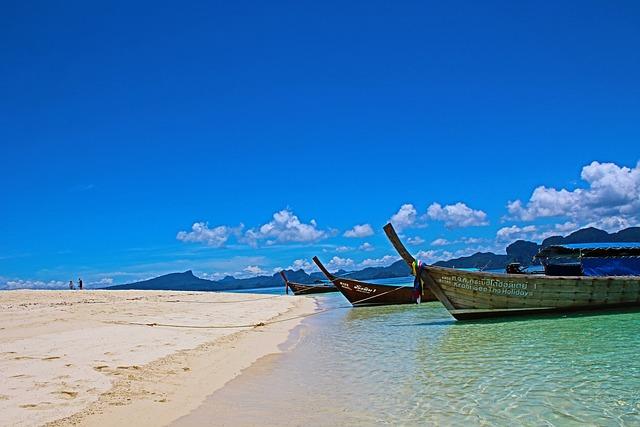 Island, Krabi, Thailand, Beach