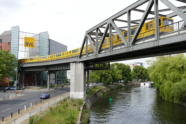 Berlin, Kreuzberg, Ubahn, Public Transport, Transport