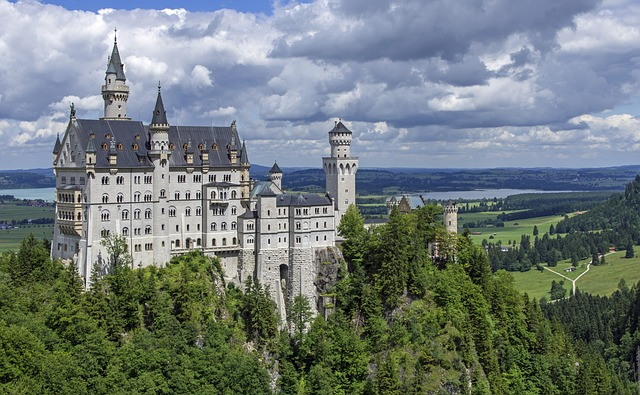 Neuschwanstein Castle, Castle, Kristin, Allgäu