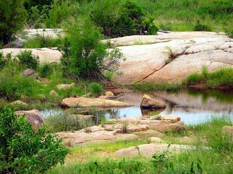 Kruger National Park, Pools, Stones