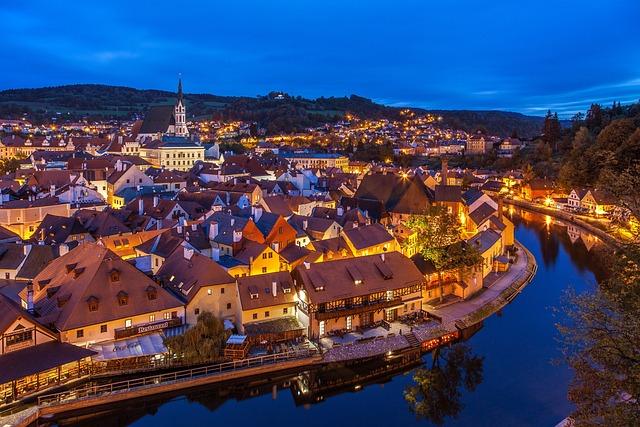 Czech, Krumlov, Cesky Krumlov, Small Town, Ck