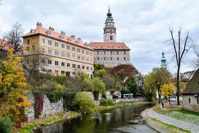 Czech Republic, český Krumlov, Krumlov, Cesky Krumlov