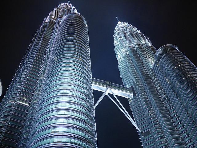 Petronas Twin Towers, Klcc, Kuala Lumpur, Malaysia