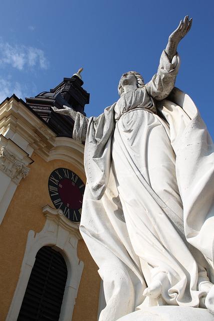 Kumar K, San Giovanni In Laterano, Mary Statue