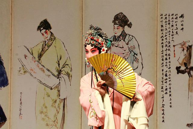 Kunqu Opera, The Peony Pavilion, Fan, Classical