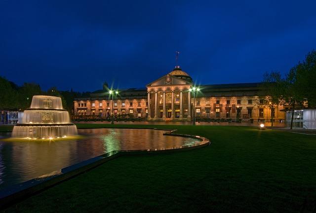 Kurhaus, Wiesbaden, Hesse, Germany, Europe