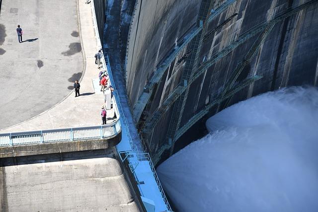 Kurobe Dam, Drain Water Off, Kuro-4dam