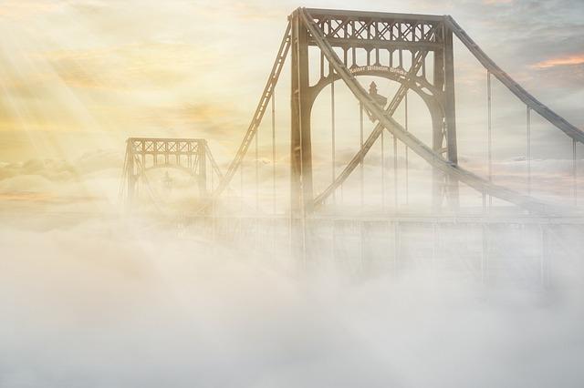 Kaiser Wilhelm Bridge, Kw-bridge, Wilhelmshaven, Bridge