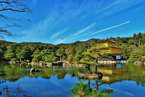 Kyoto, Golden Temple, Kinkaku-ji, Japan