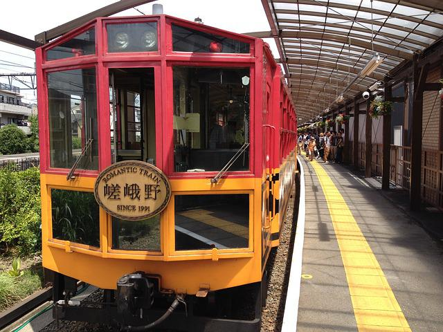 Trolley Train, Sagano, Kyoto