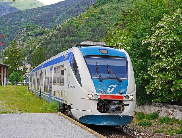 Regional Train, Rail- Cars, Trenitalia, La Brigue