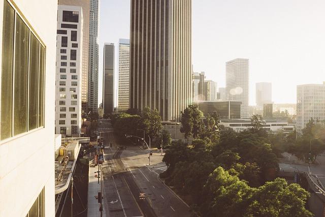 Los Angeles, La, Usa, America, City, Metropole