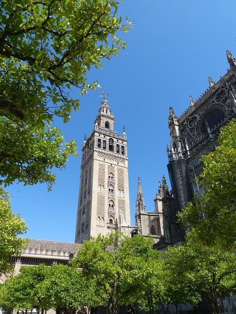 Cathedral, La Giralda, Plaza Virgen De Los Reyes