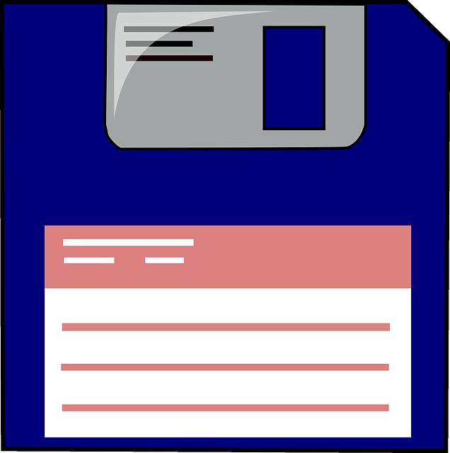 Floppy Disc, Data Storage, Label, Information Backup