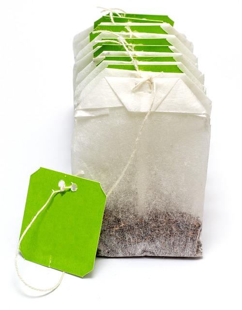 Teabag, Tea, Label, Drink, Natural, Green