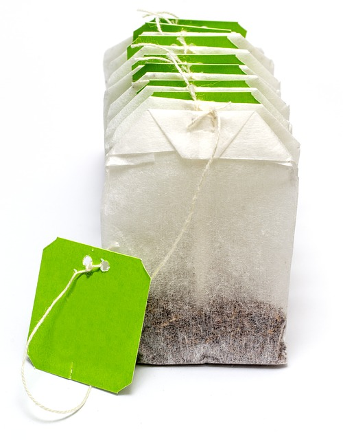 Teabag, Tea, Label, Drink, Natural, Green