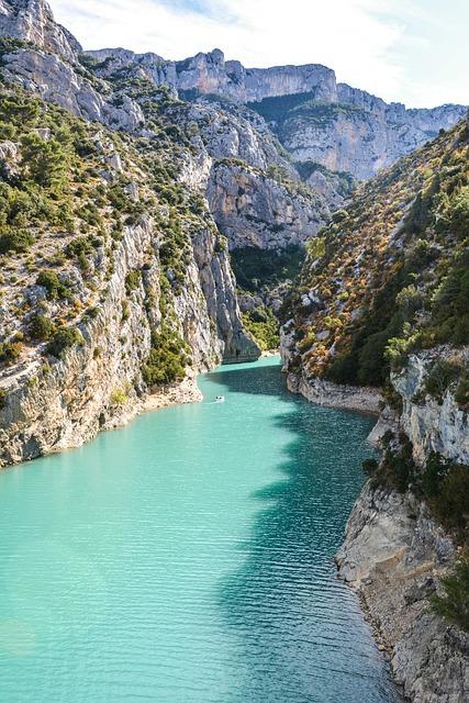 France, Lac De Sainte-croix, Sainte-croix-du-verdon