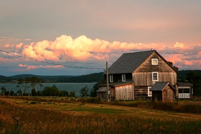Lac La Hache, Lake, Heritage, Sunset, Thunderstorm