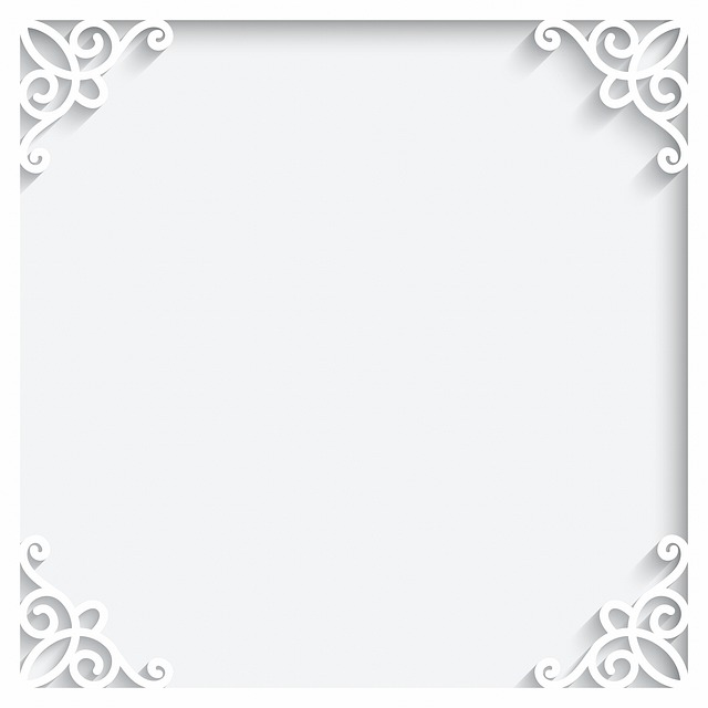Paper Cutting Background, White Background, Lace