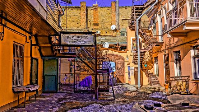 Odessa, Patio, Cliffs, Ladder