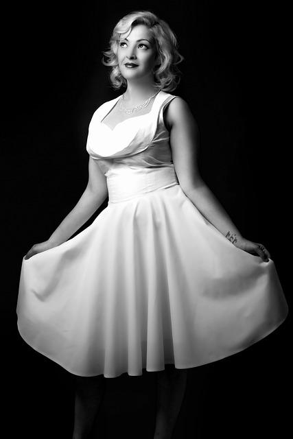 Woman, Dress, White, Fashion, Attractive, Lady