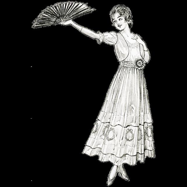 Woman, Lady, Vintage, Victorian, Edwardian, Fashion