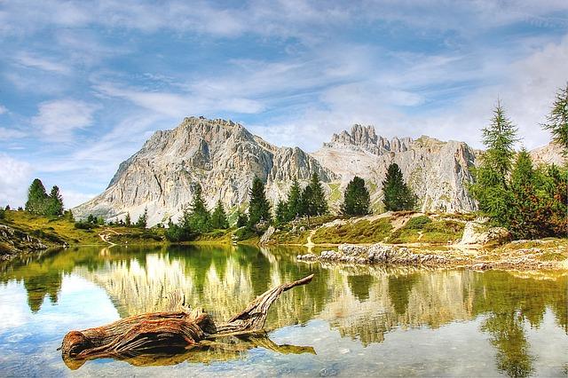 Lech Limides, Lagazuoi, Dolomites, Italy