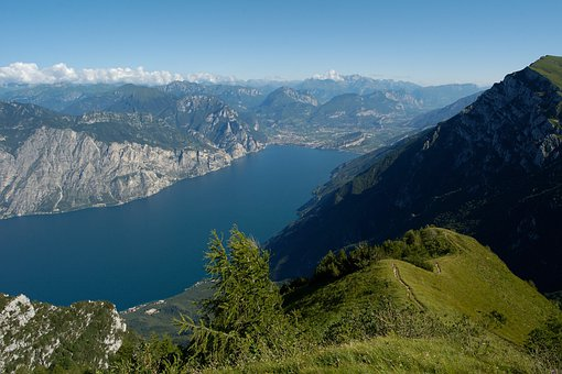 Lake, Garda, Lago Di Garda, Mountains, Alpine, Summer