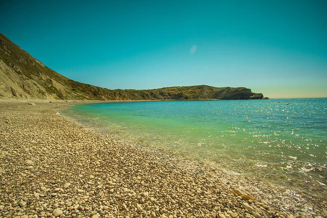 Lulworth Cove, Laguna, Beach, Ocean, Seascape