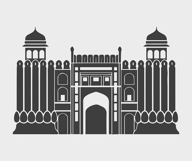 Lahore Fort, Shahi Qila, Punjab, Pakistan, Citadel
