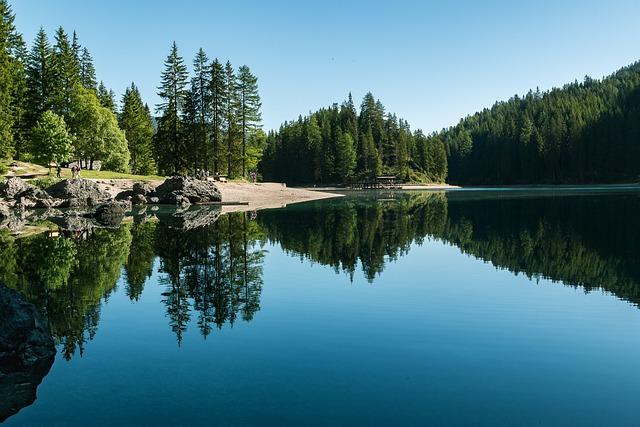 Lake, Bergsee, Nature, Mountain Lake, Dolomites, Alpine