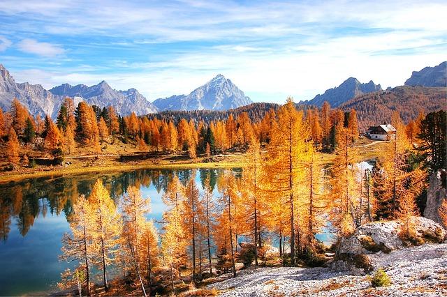 Dolomites, Mountains, Italy, Alpine, View, Nature, Lake