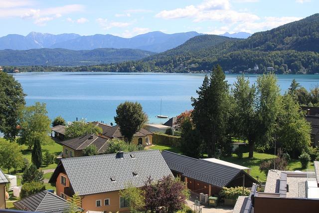 Wörthersee, Klagenfurt, Austria, Lake, Outlook, Alpine