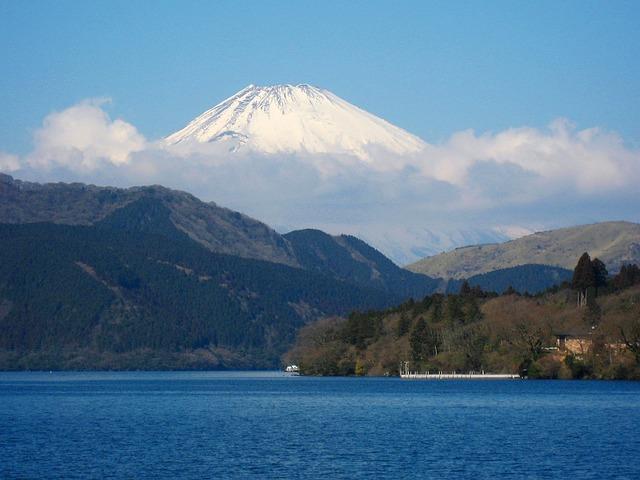 Lake Ashi, Mt Fuji, Kanagawa Japan