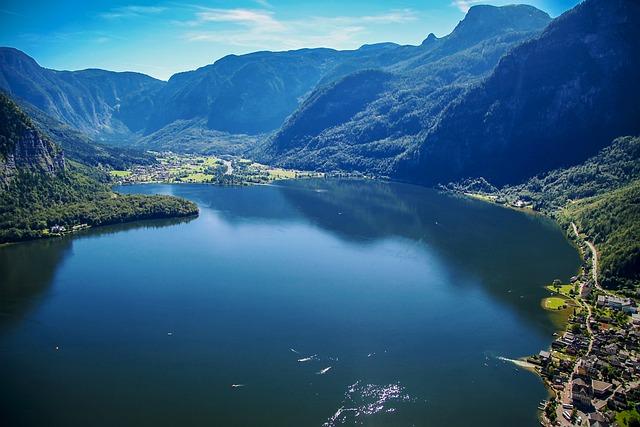 Hallstatt, Lake, Beautiful Scenery, Austria