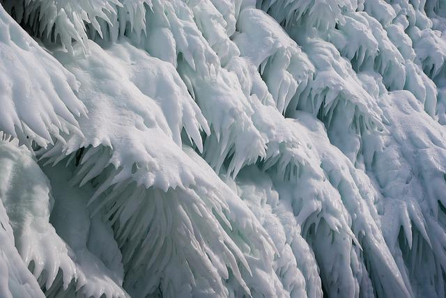 Lake Baikal, Frost, Ice