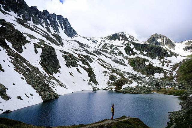 Mountain, Lake, Switzerland, Landscape, Bergsee, Trail