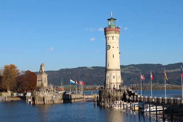 Lake Constance, Lindau, Harbour Entrance