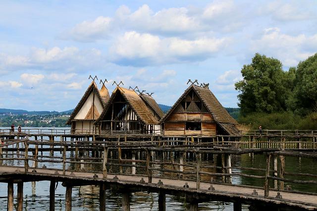Stilt Houses, Unteruhldingen, Lake Constance