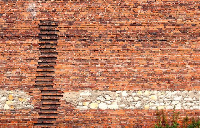 Brick, Lake Dusia, Chalk, Wall, Texture, Building