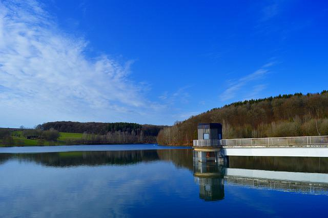 Free Linger Lake, Free Lingen, Eifel, Water, Lake
