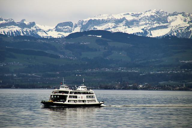 Lake, Bodensee, Cruise, Ferry, Landscape, Panorama