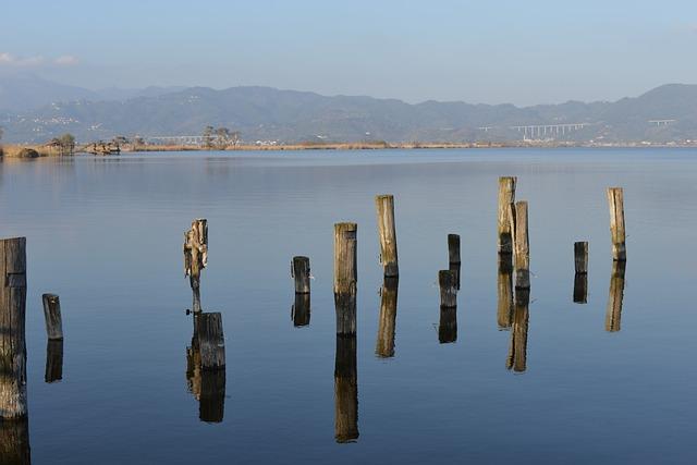 Lake, Viareggio, Italy, Tuscany
