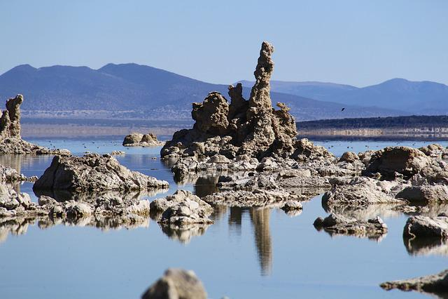 Monolake, Lake, Lee Vining, Usa, Water, America